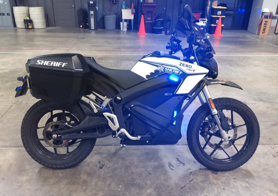 Helping Make the Roads Safer: A Motorcycle Light Upfit for Davidson County
