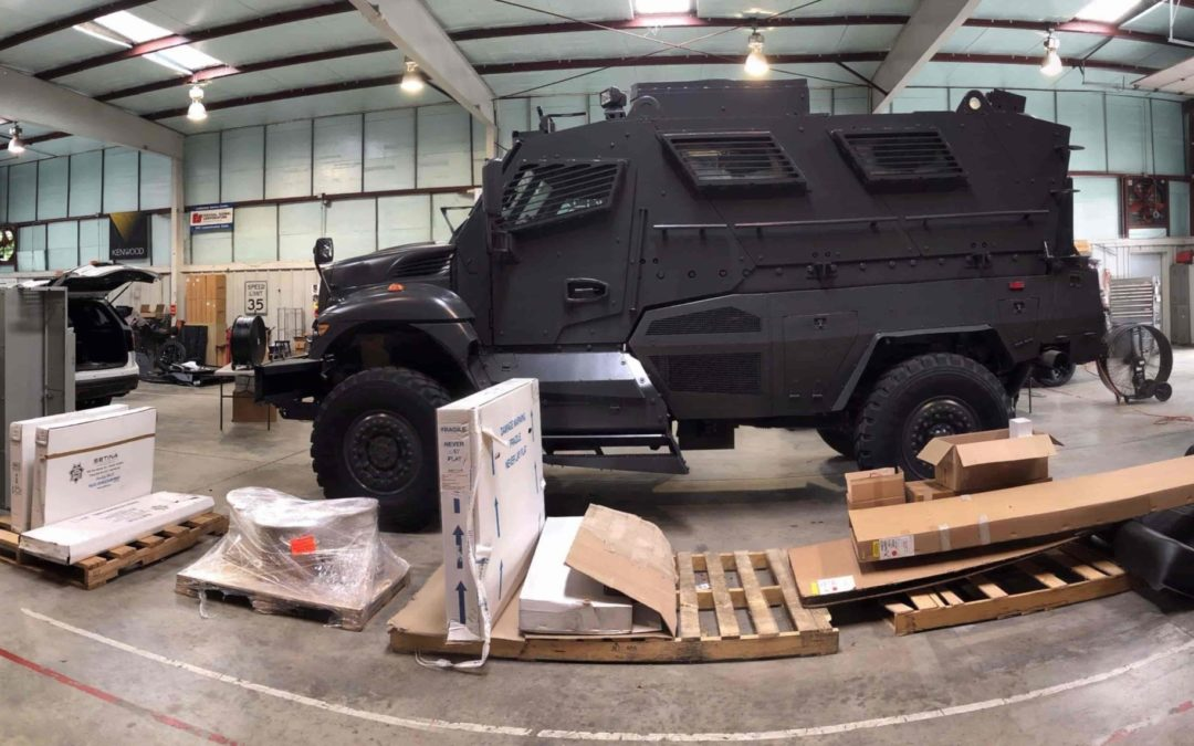 Protecting Guilford County's Finest: Upfitting a SWAT Car for Duty